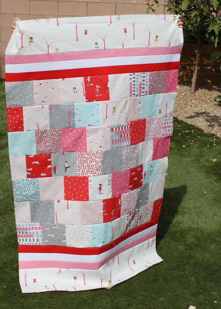 Baby Sherbet Pips Quilt Zombie