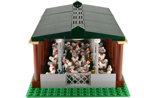 Custom minifig Chicken shed