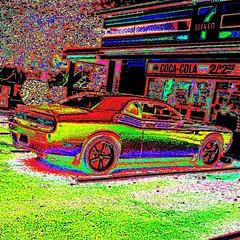 Hot Wheels at the 7Eleven No. 1 (aeleazer1(Busy,Off/On)!!!) Tags: camera blue light sky orange white black color green art colors yellow mobile upload puddle blog dc washington interestingness interesting day random air picture explore dcist daytime splash vote tagging catchy soe api washdc facebook hypothetical iphone ipad givemefive metroarea vividimagination twitter colorpicture artdigital kartpostal shockofthenew infinitescroll iphone4 cmwd iphonecamera iphonepicture flickriver iphonography iphoneart awardtree struckbyrainbow trolledproud abokehoflight ipadography aeleazer1 ipadology aeleazer andreeleazer netartii
