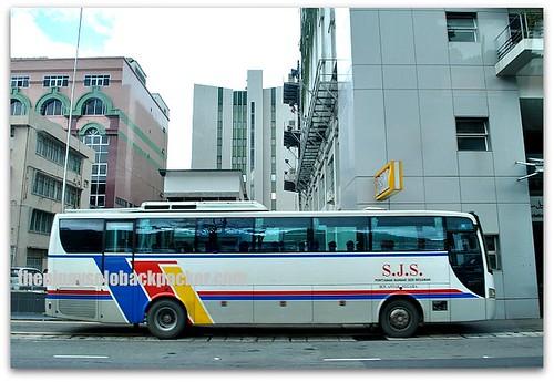 Bus station of bus from Brunei to Kota Kinabalu