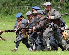 Charge! (day_sargent) Tags: history scotland battle battlefield reenactment selkirk livinghistory warfare scottishborders sealedknot philiphaugh