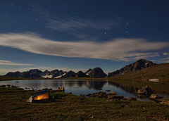 Dora Lake (wishiwsthr) Tags: camping mountains night colorado nightshot cloudy hiking gorerange cloudynight doralake regionwide wishiwsthr