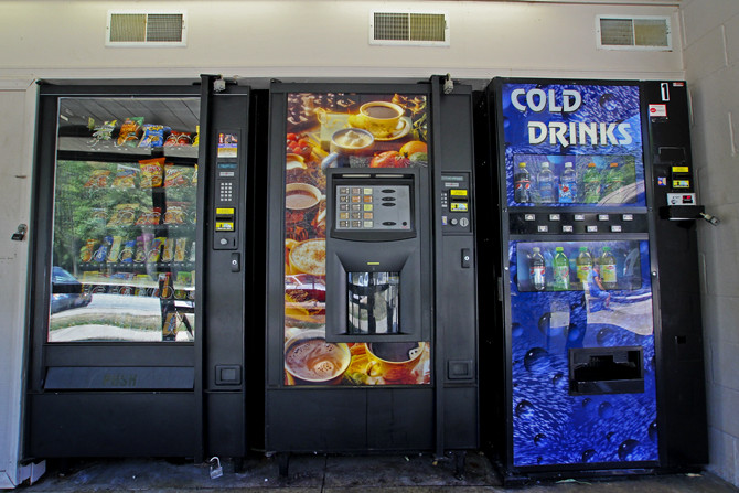 Rest Stop Vending Machines
