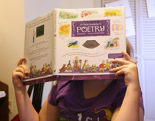 poetry book with peephole