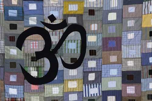 Om Recycled Custom Quilt