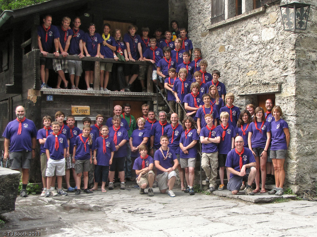1st Finchampstead - Scout Kandersteg Expedition 2011