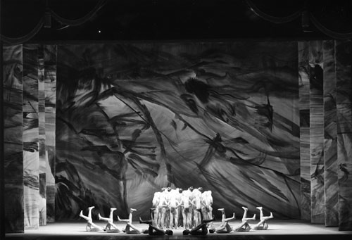 "Members of The Royal Ballet in Kenneth MacMillan's The Rite of Spring. The Royal Ballet 1962. <a href=""http://www.roh.org.uk"" rel=""nofollow"">www.roh.org.uk</a> Photo: James McDougall"