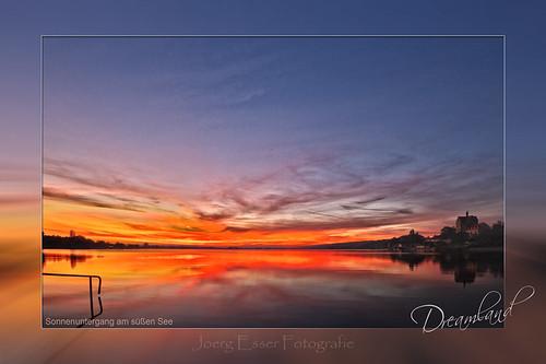 Dreamland - Sonnenuntergang am süßen See