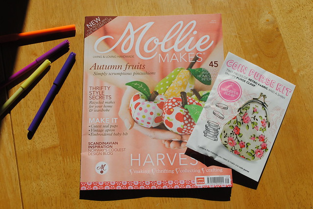 The latest Mollie Makes - can't wait to get stuck in!