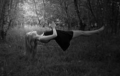 Day 1 (butterfliesandbreadbeetles) Tags: wood selfportrait levitation days falling 365