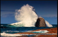 Crashing (PhotoArt Images) Tags: beach waves australia tasmania bicheno crashingwave photoartimages