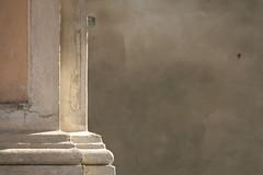 (simona.2011 (slow mode...)) Tags: italy white church wall pastel lombardia neutral reflectionoflight portalbera