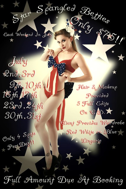 Star Spangled Betties julyevent