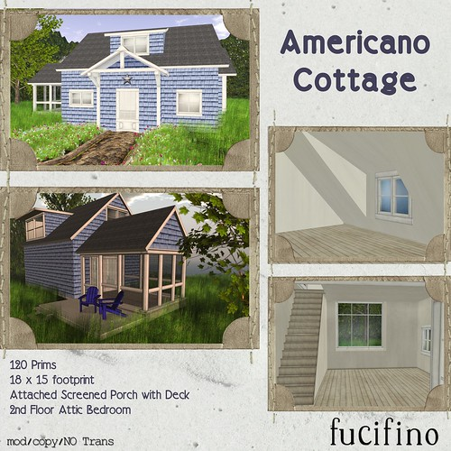 fucifino.americano cottage ad for La Venta Eventa
