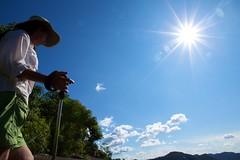 Valenta y la pepa de sol (el pequeo ojo) Tags: ro river venezuela selva jungle estadobolvar caurariver rocaura