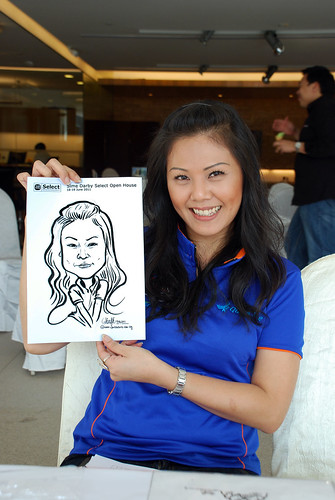 Caricature live sketching for Sime Darby Select Open House Day 2 - 35