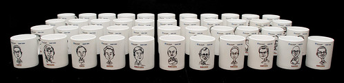 Caricatures printed on mugs for Fisher Scientific - 7