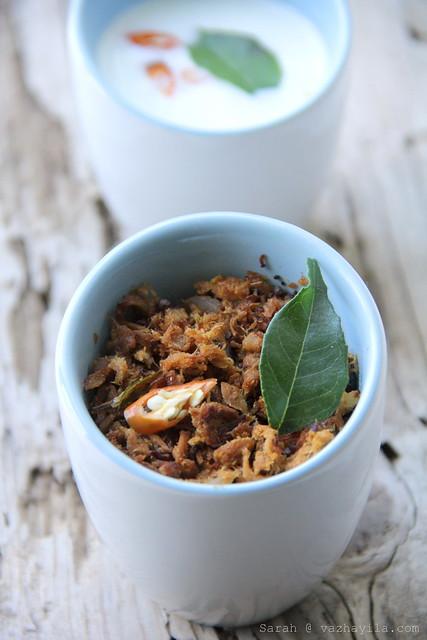 Kerala style spicy sauteed Tuna