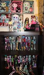 Monster High (pullip_junk) Tags: abbey jackson frankie holt spectra cleo mh deuce schoolsout lagoona ghoulia gloombeach clawdeen dawnofthedance monsterhigh draculaura dayatthemaul