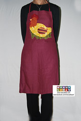 Davantal diseny patchwork gallina (Manualitas) Tags: handmade craft apron patchwork hen artesania gallina delantal manualidad davantal