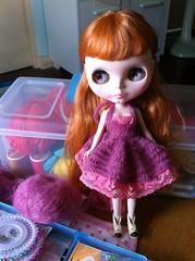 DIY : Purple Dress