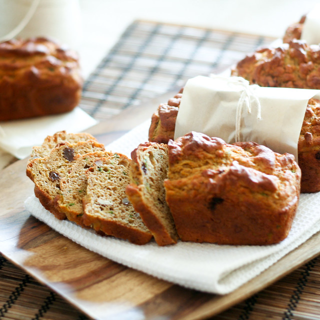 Pumkin and Zucchini Breads