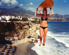 194 - Poseidon's Return! (jacens0l0) Tags: beach bikini goliath mega giantess annasophiarobb