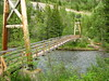 Suspension Bridge over Kananaskis River (sleeman57) Tags: bridge kananaskis suspension kana sakis