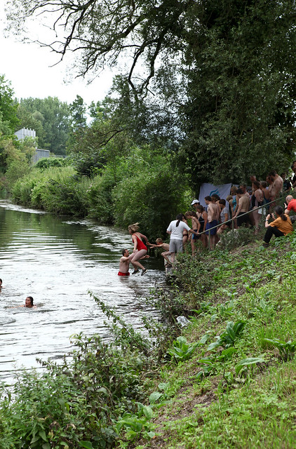 river dipping 3