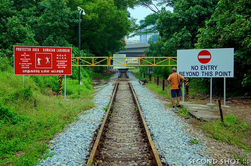 End of Rail Corridor