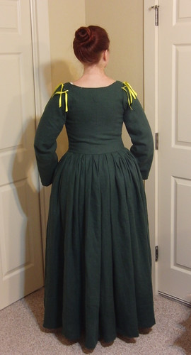 Flemish Dress - Back View