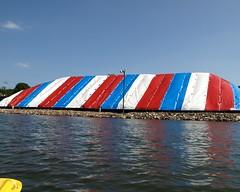 Salt Cover Tent, Atlantic Salt Company, Staten Island, New York City (jag9889) Tags: city nyc sea ny newyork island salt tent richmond kayaking statenisland staten newbrighton 2011 killvankull richmondterrace atlanticsalt y2011 jag9889