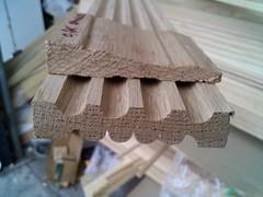 fluted reeded oak casing (moulding photos) Tags: oak redoak fluted reeded