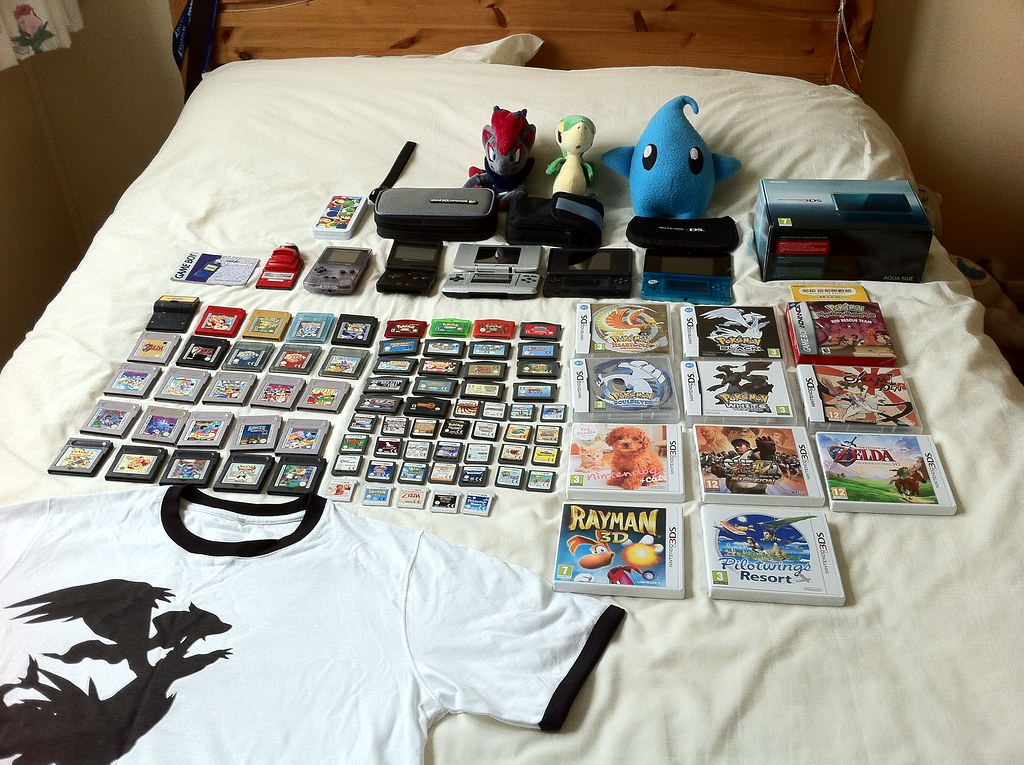 Nintendo handheld collection