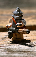 Minigun Fun! (The Chef!) Tags: lego minigun minifigure brickarms