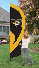 Missouri Tigers Tall Feather Flag