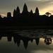 Amanhecer em Angkor Wat