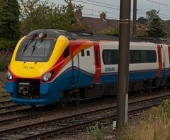 East Midlands Trains 222005 in Holgate Sidings York (simonz.photoz) Tags: york train diesel passenger 222 highspeed class222 eastmidlandstrains 222005 meridianvoyager holgatesidings