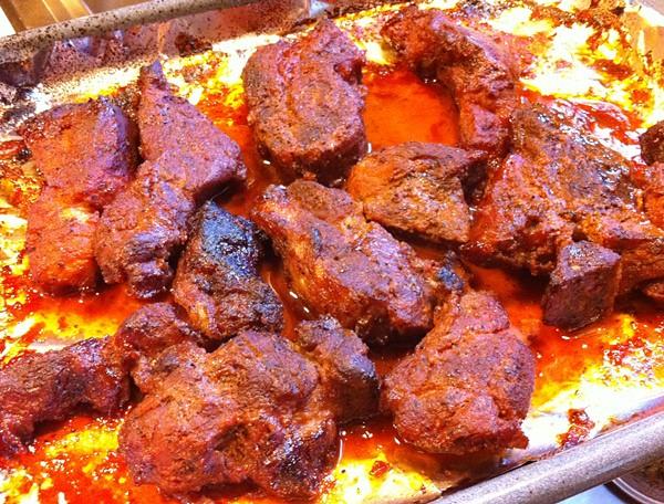 BBQ Country Style Ribs สูตรซอสพริกศรีราชาไทย