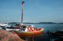 acalmplace-1 (cicek t.) Tags: sea nature turkey coast boat seaside fisherman ship cunda fishermanboat aegen calmplace