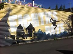 Des graffitis dans les rues de Montréal