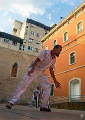 Capoeira - Convent Sant Agusti (series) (Paco CT) Tags: barcelona dance spain capoeira performance convento evento kdd convent esp baile 2011 actividad pacoct santagusti