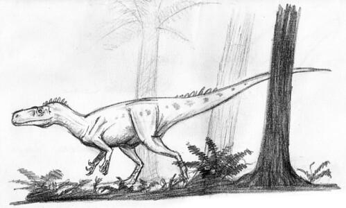 Herrerasaurus by Ezequiel Vera