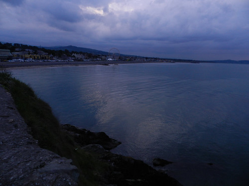 Thursday evening stroll on Bray Seafront