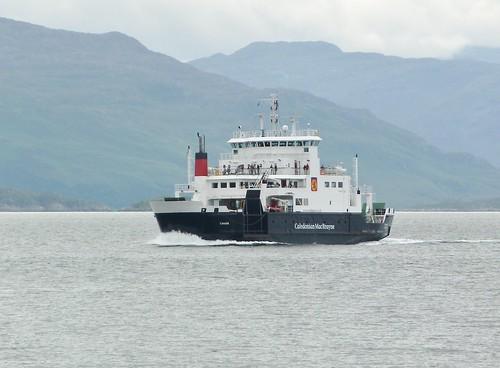 Skye Ferry arriving Armadale