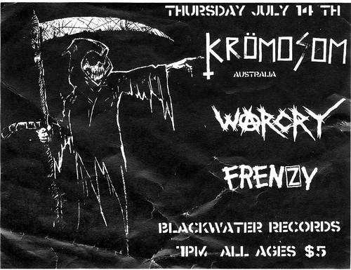 7/14/11 Kromosom/Warcry/Frenzy