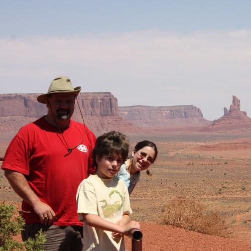 The Millers at Monument Valley