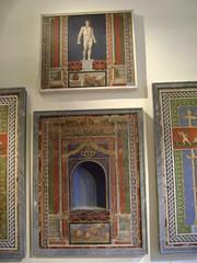 Mosaicos de Pompeya - 7 (caliope y la luna) Tags: museoarcheologiconazionale