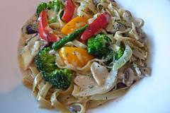 20110601-蔬菜義大利麵-1