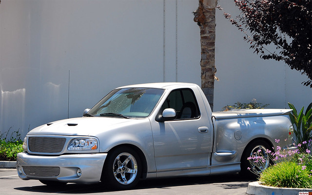 ford silver f150 1998 svt 401k